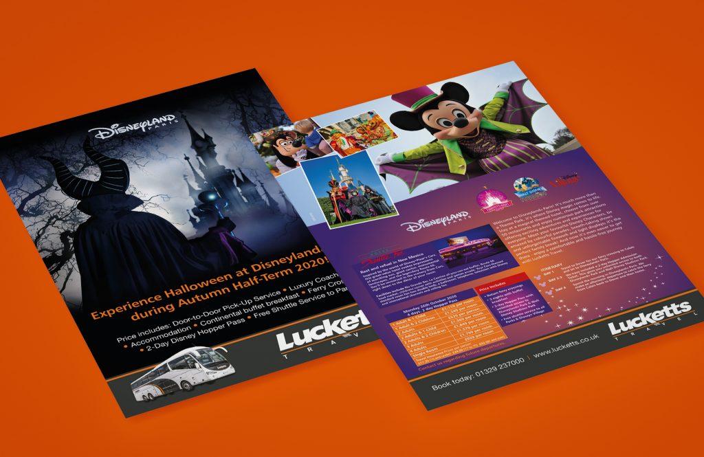 Disneyland Lucketts Ads