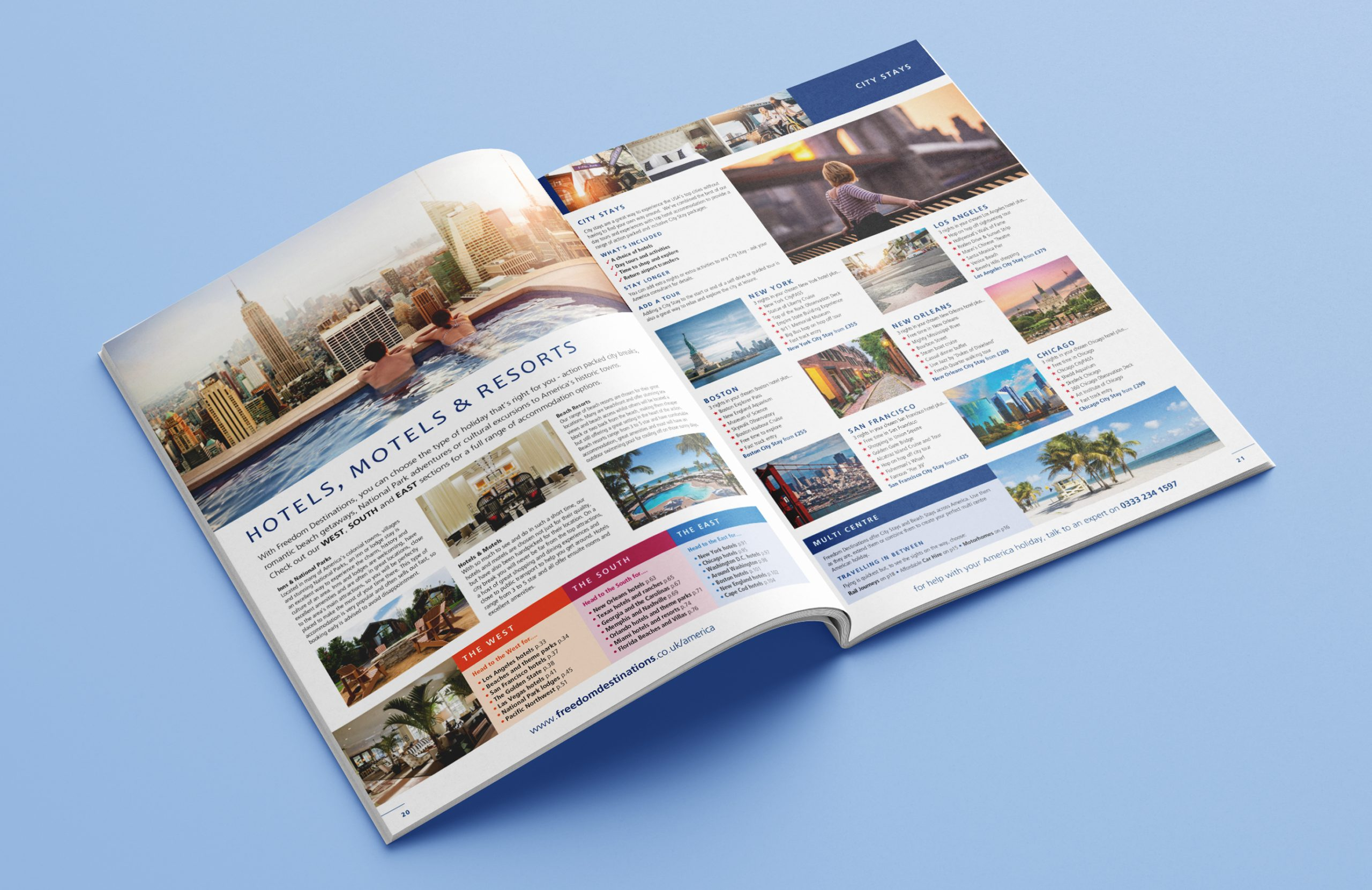 Freedom America Brochure Design