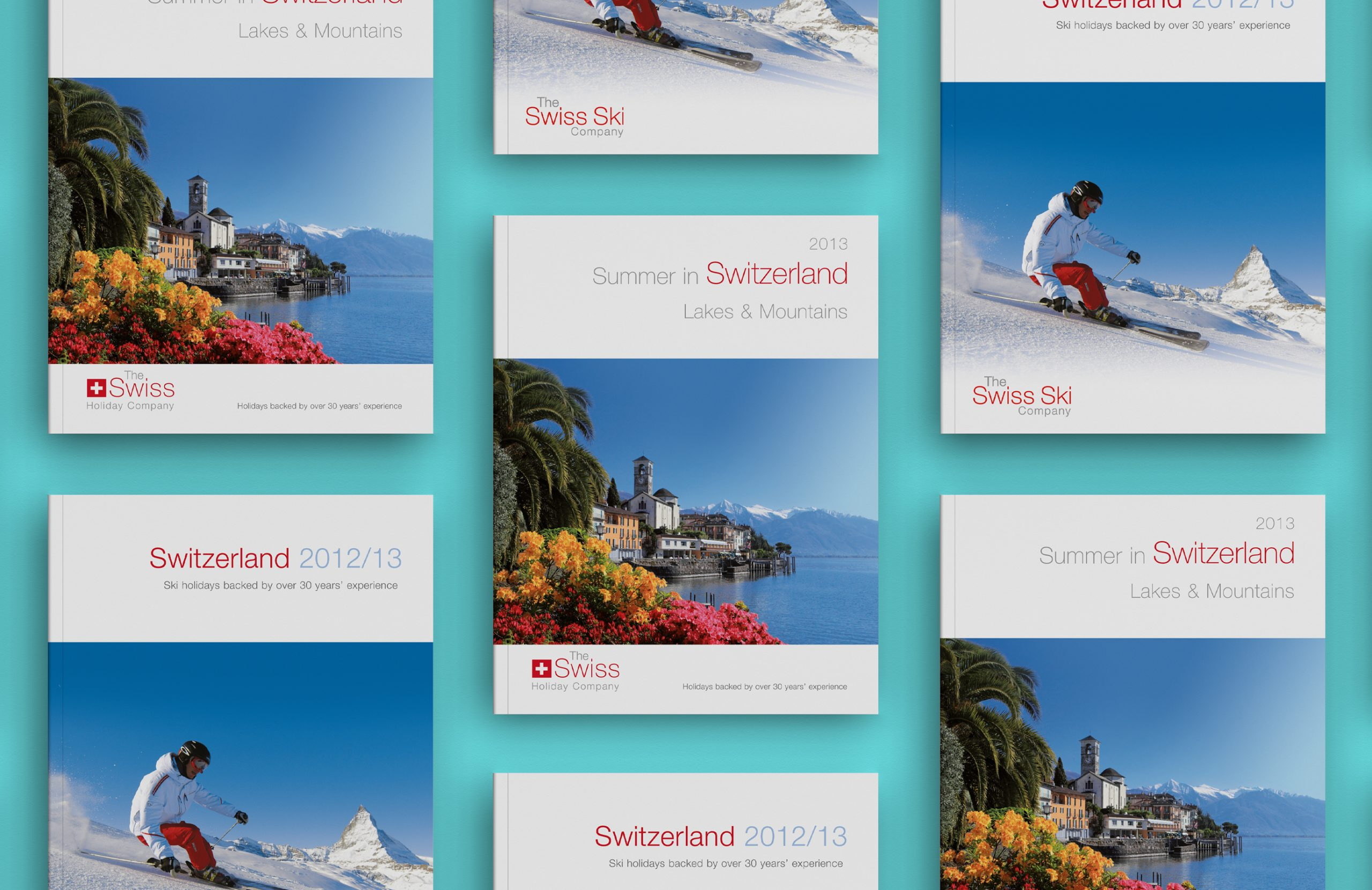 Swiss Holiday Company Brochure Design