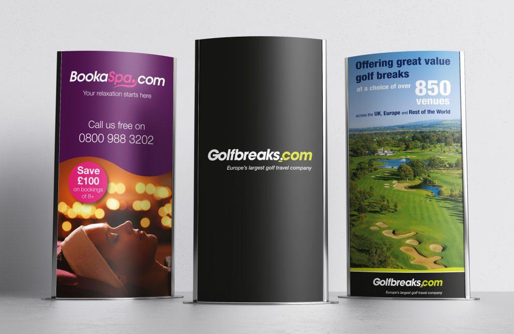 Golfbreaks.com display ads