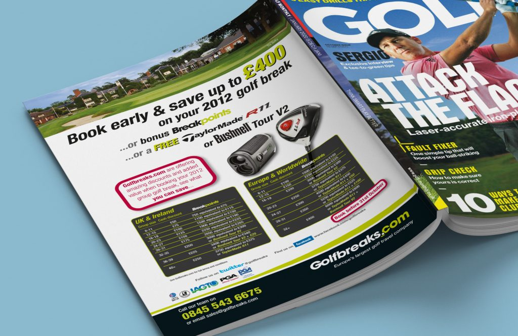 Golf Monthly Advertisment