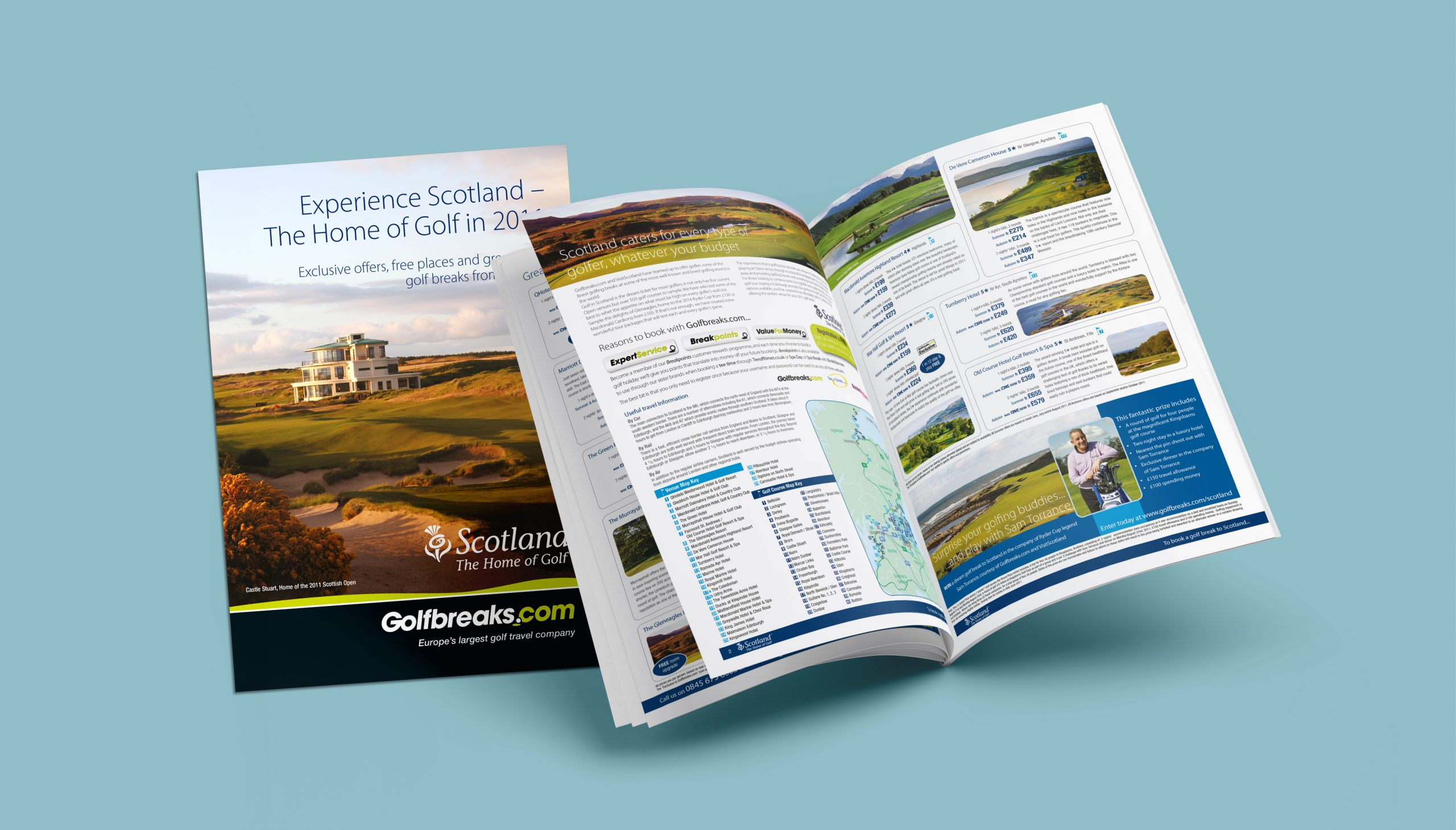 Golf Scottish Brochure
