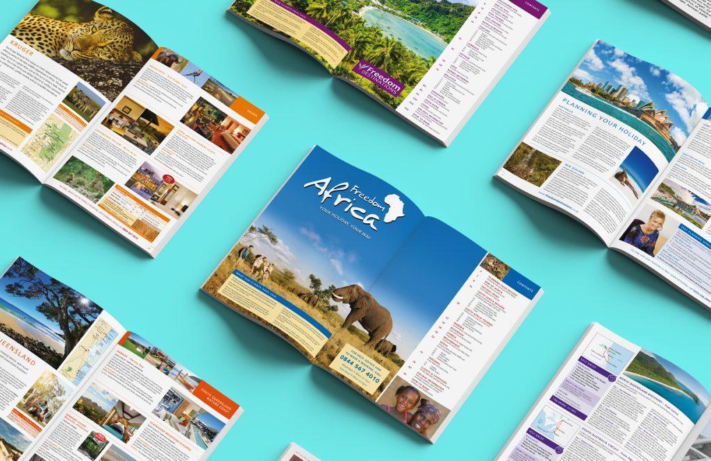 Freedom Africa Brochure Design