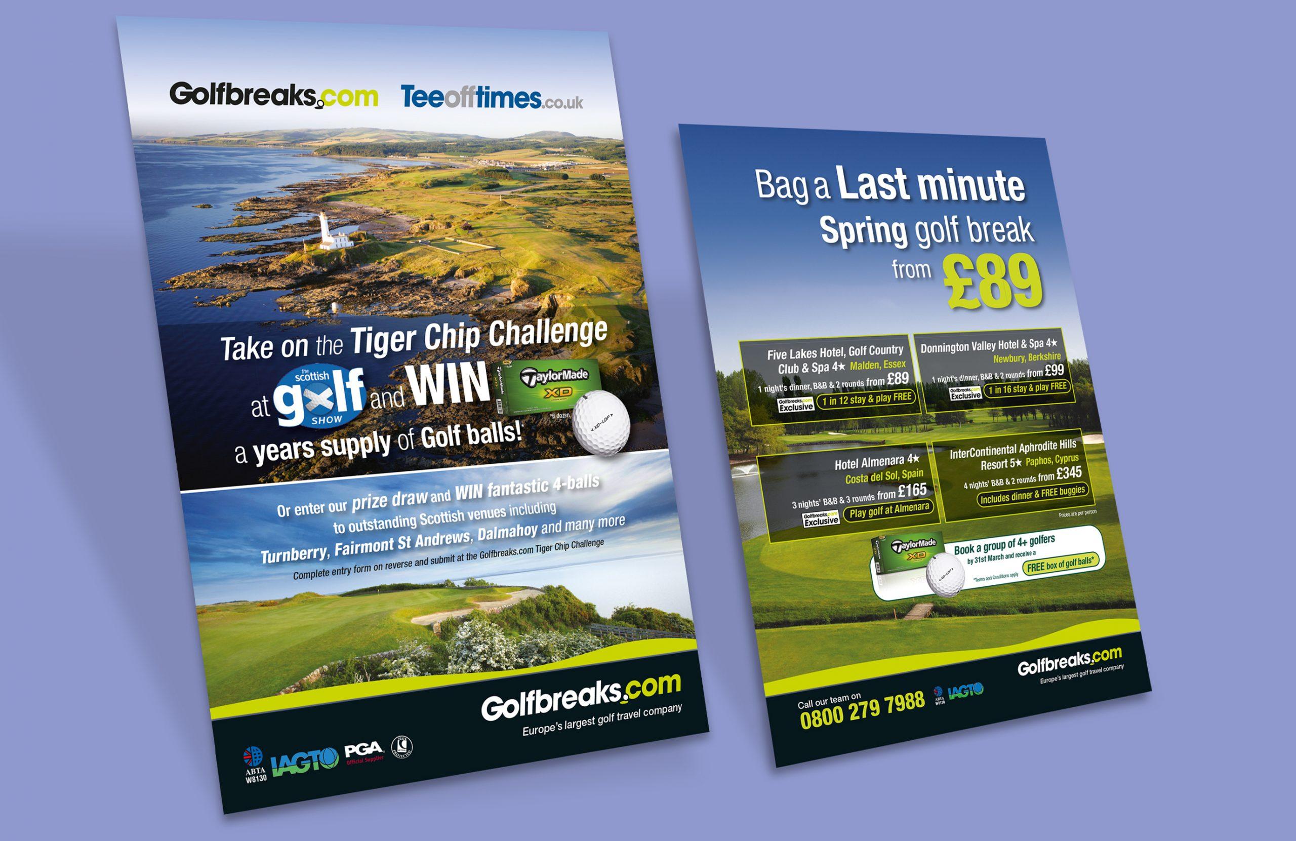Golfbreaks.com creative