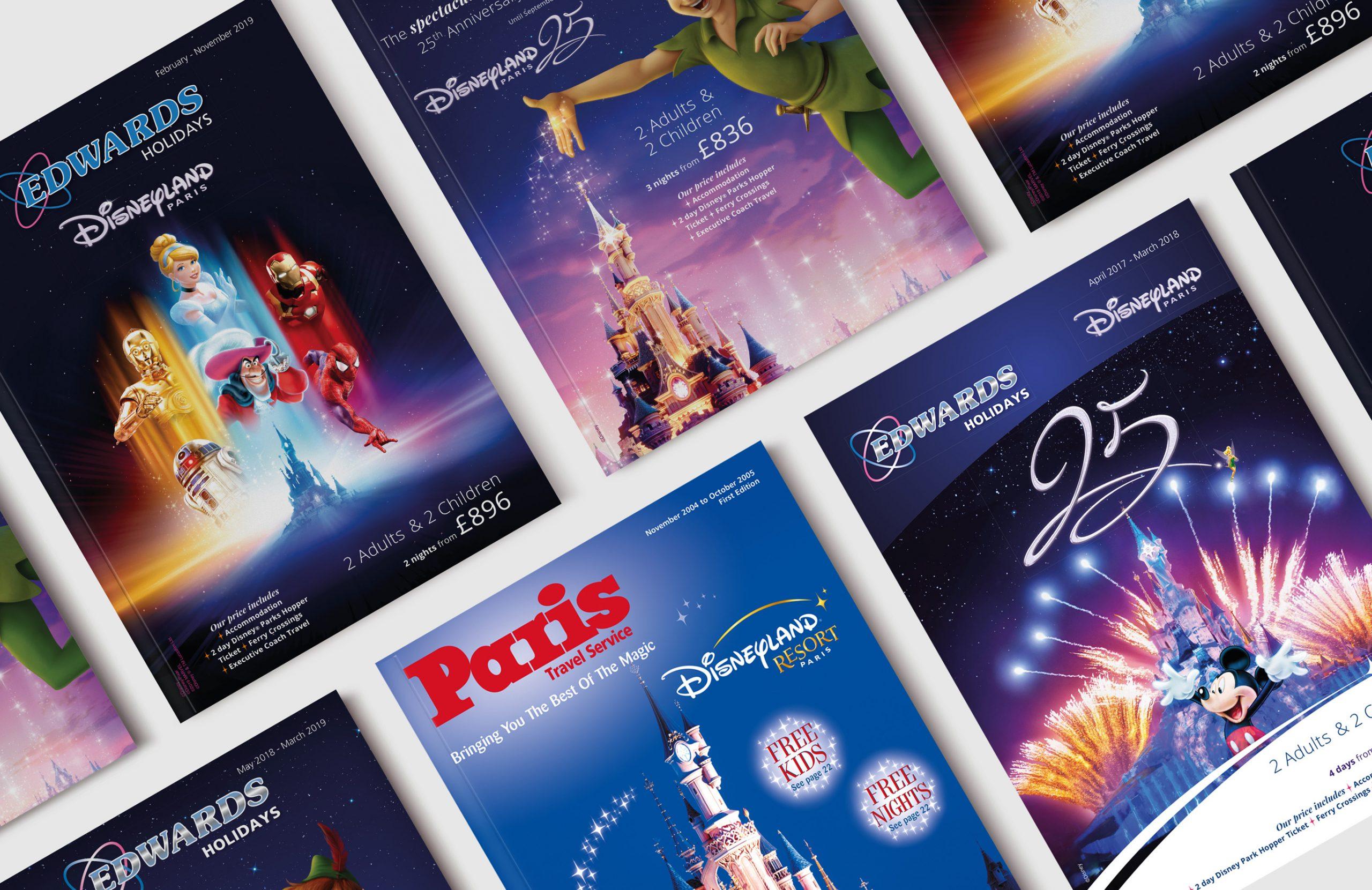 Disneyland Hotels Covers Magazine