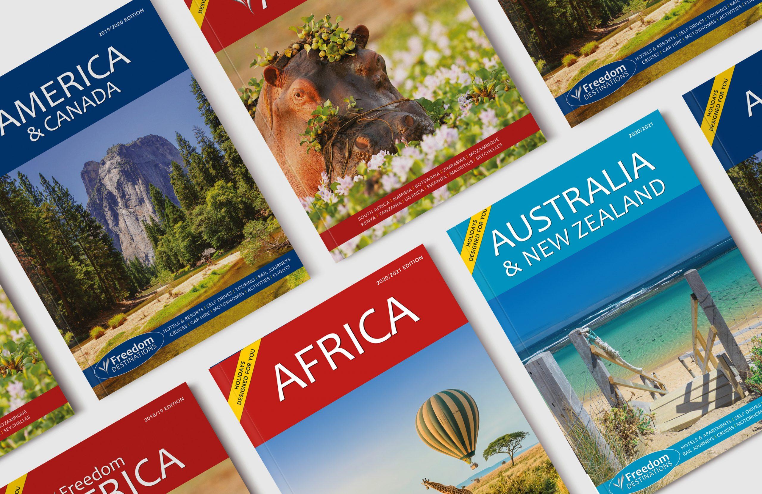 Freedom Brochure Creative Covers