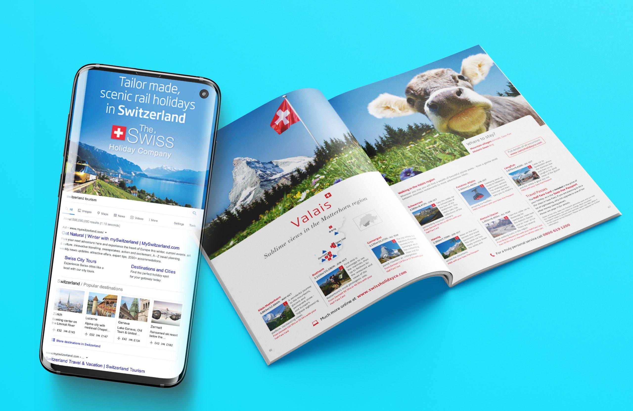 Swiss Holiday Company Design