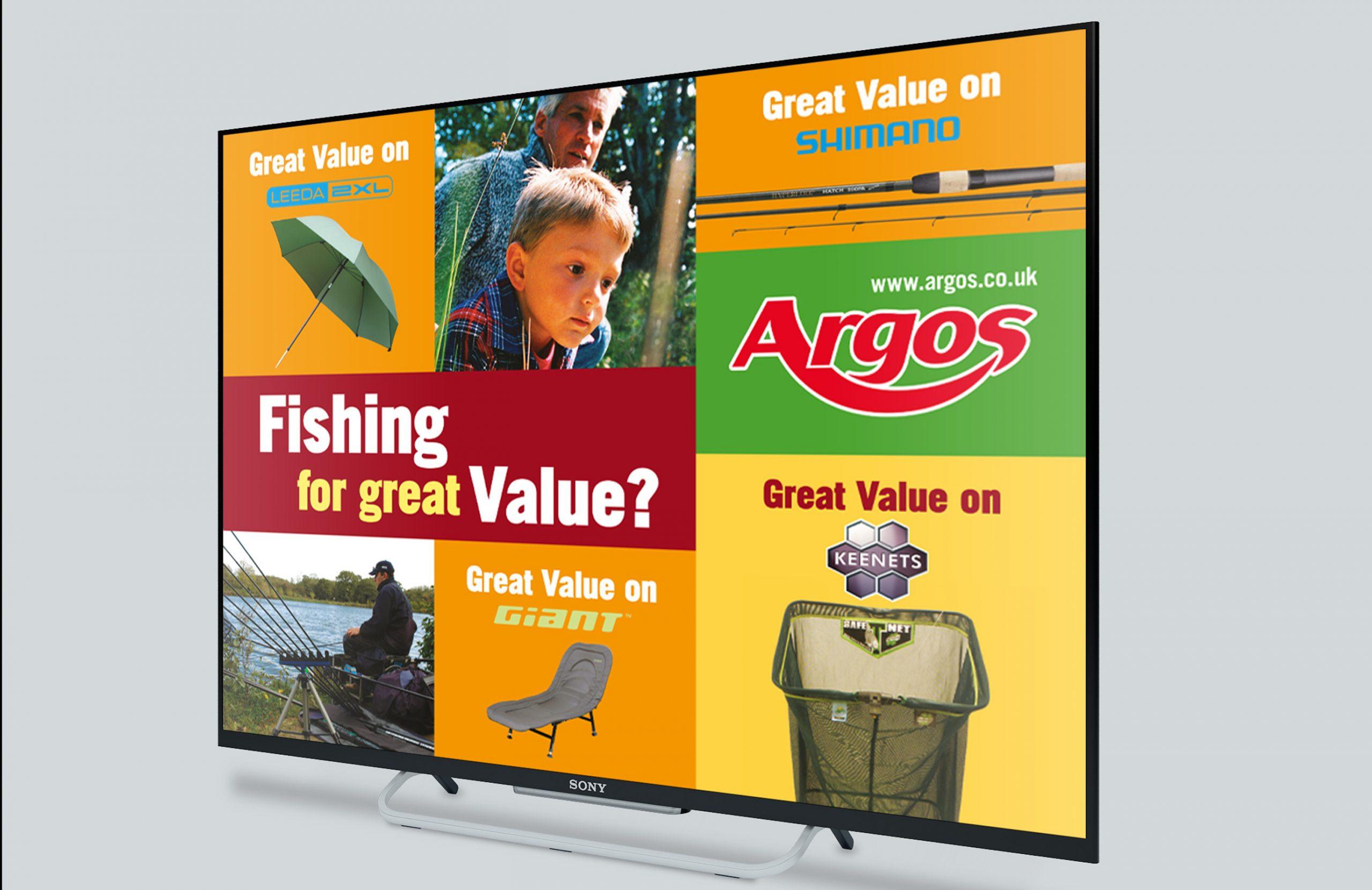 TV Dispaly Fishing