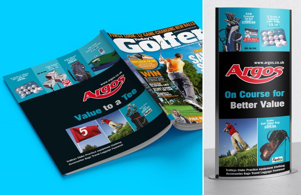 Golf Display Ads Argos